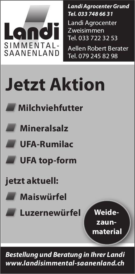 Jetzt Aktion Milchviehfutter / MIneralsalz etc., Landi Simmental-Saanenland