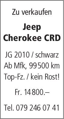 Jeep Cherokee CRD zu verkaufen