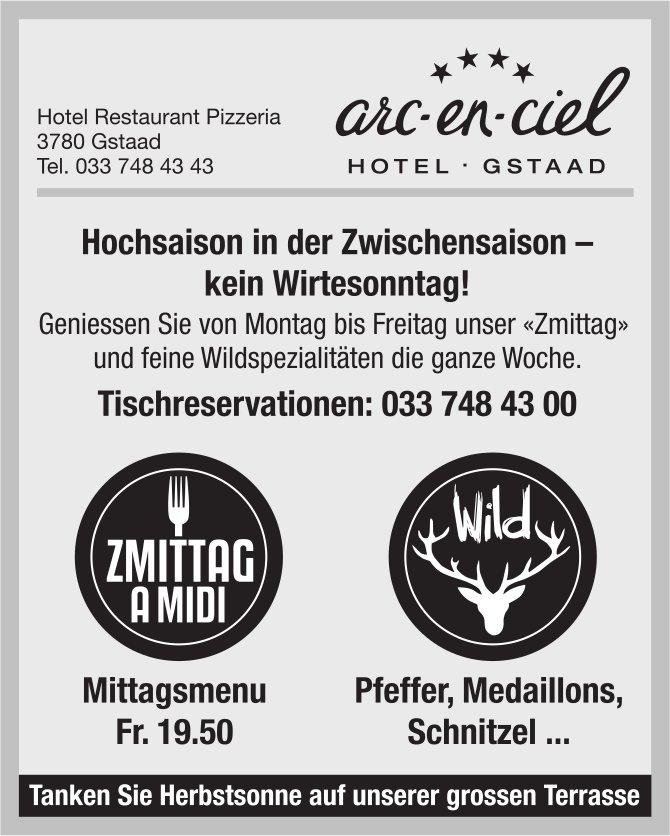 Hochsaison in der Zwischensaison - kein Widesonntag! Hotel Restaurant Pizzeria