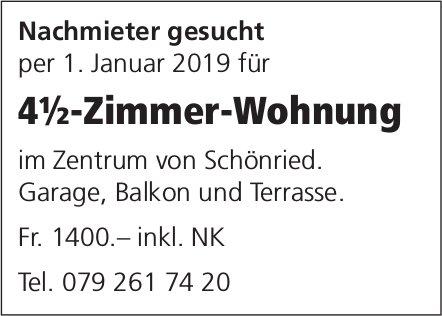 4½-Zimmer-Wohnung, Zentrum von Schönried, zu vermieten