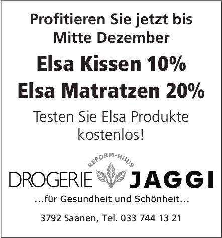 DROGERIE JAGGI, Saanen - Profitieren Sie jetzt bis Mitte Dezember