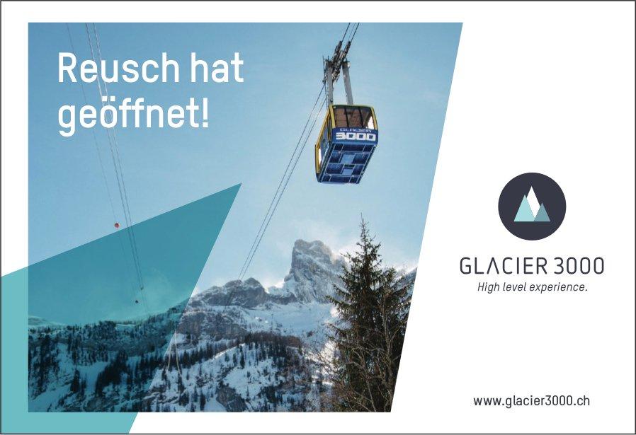 Reusch hat geöffnet! Glacier 3000