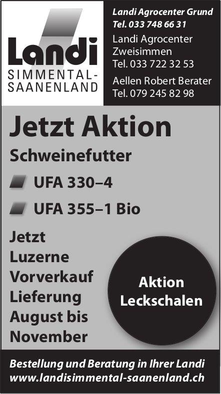 Landi Simmental-Saanenland - Jetzt Aktion: Schweinefutter