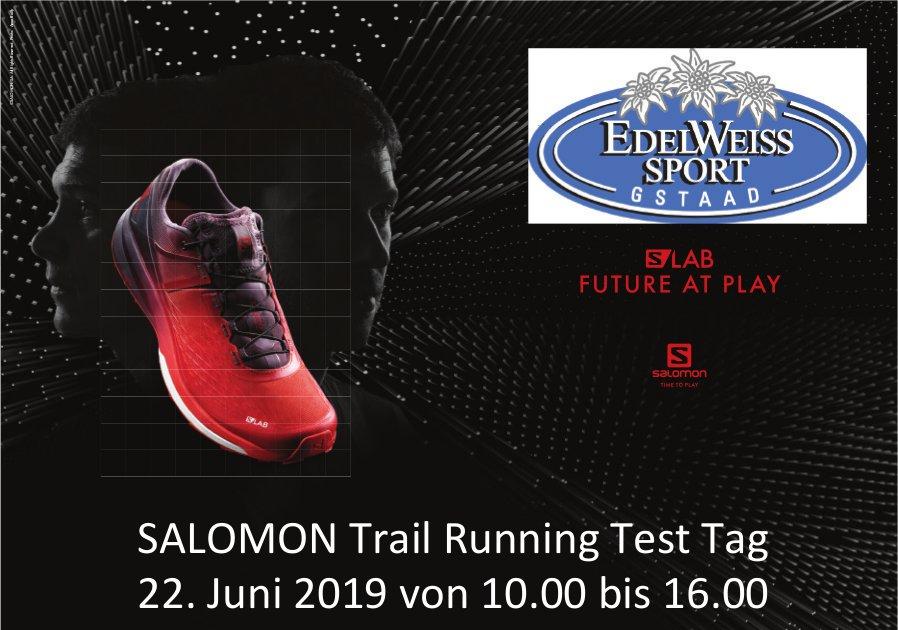 SALOMON TrailRunningTest Tag, 22. Juni, EDELWEISS SPORT, GSTAAD