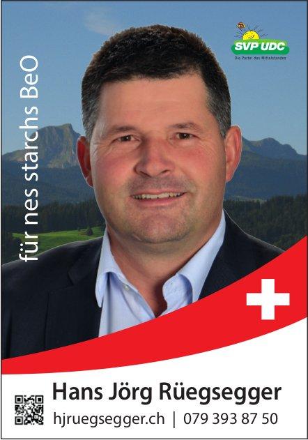 Hans Jörg Rüegsegger - für nes starchs BeO
