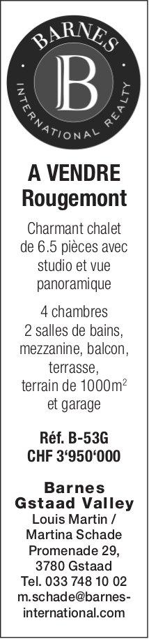 Charmant chalet de 6.5 pièces avec studio, Rougemont, à vendre