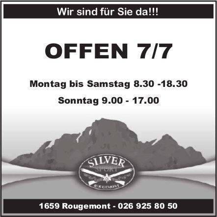 Silver Sport, Rougemont - OFFEN 7/7