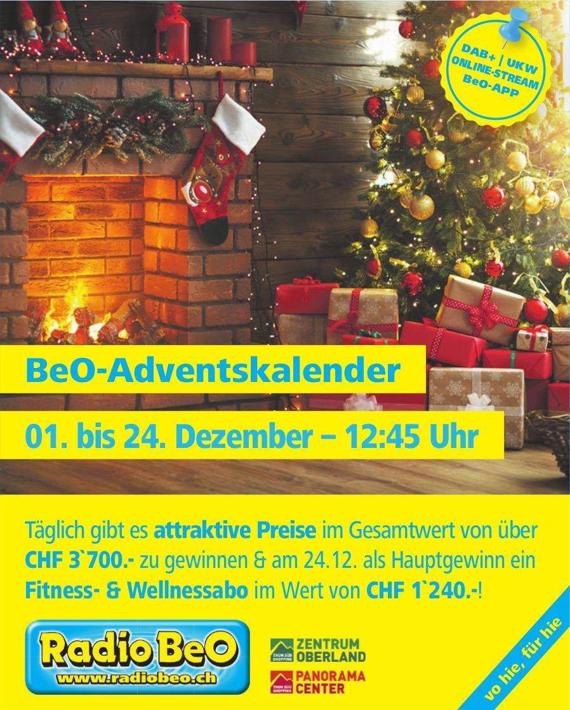BeO-Adventskalender 01. bis 24. Dezember