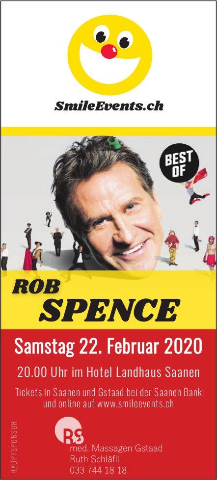 ROB SPENCE, 22. Februar, Hotel Landhaus, Saanen
