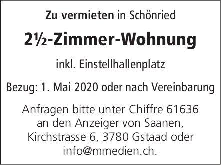 2.5 Zimmer-Wohnung,  Schönried, zu vermieten