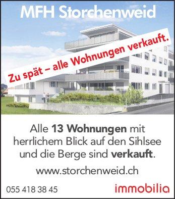 MFH Storchenweid, Zu spät - alle Wohnungen verkauft