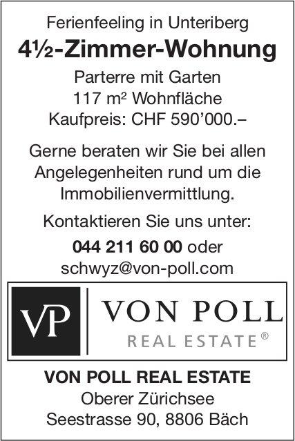 4½-Zimmer-Wohnung, Unteriberg, zu verkaufen