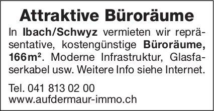 Attraktive Büroräume, Ibach/Schwyz, zu vermieten