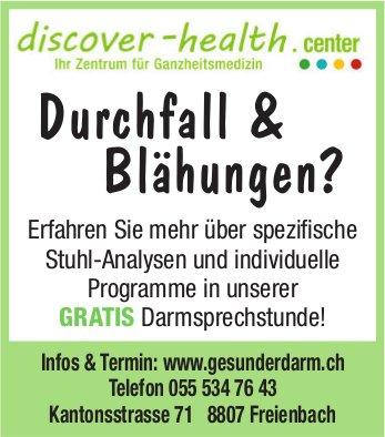 Durchfall & Blähungen? discover-health.center