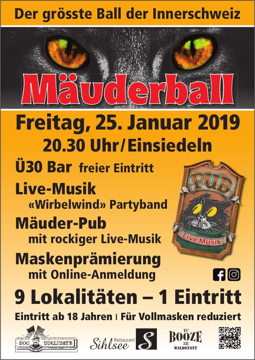 Mäuderball, 25. Jan.
