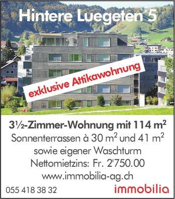 3½-Zimmer-Wohnung mit 114 m2 in Hintere Luegeten 5 zu vermieten