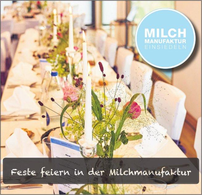 Feste feiern in der Milchmanufaktur