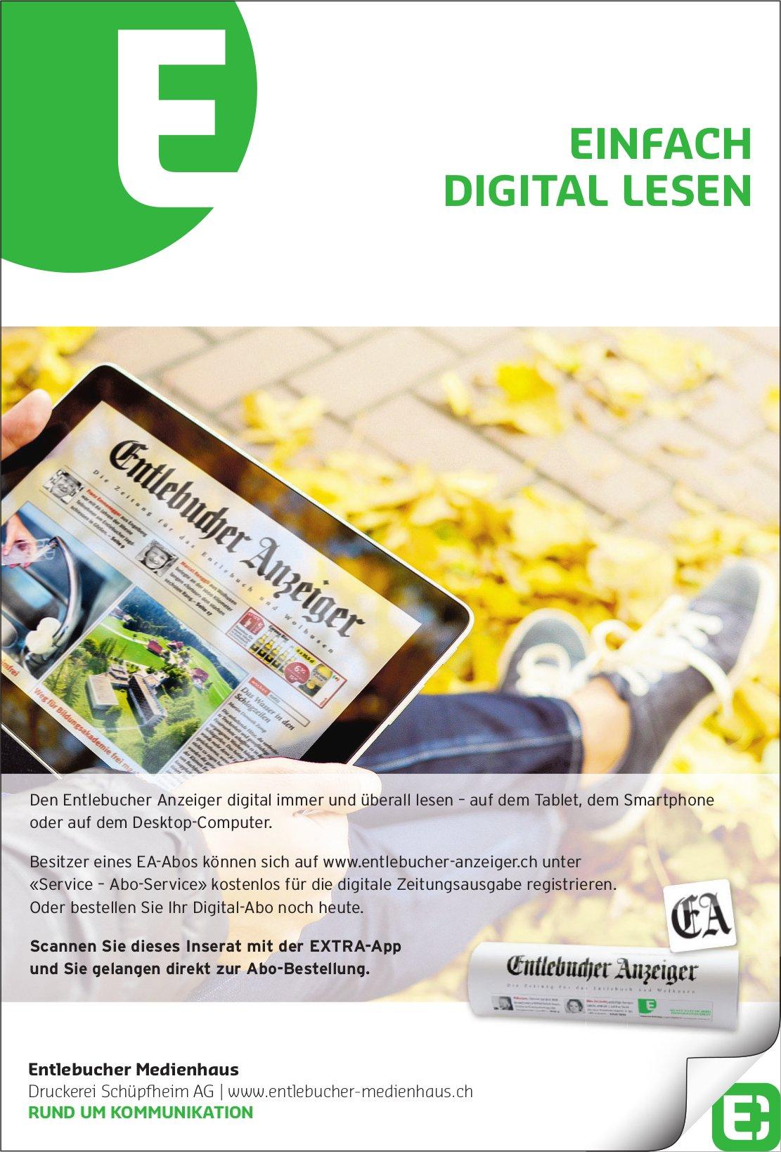 Entlebucher Medienhaus - EINFACH DIGITAL LESEN