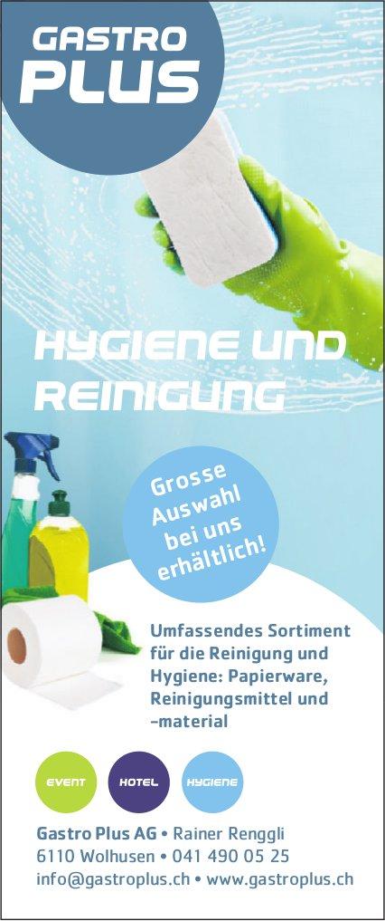 Gastro Plus AG, Wolhusen - Hygiene und Reinigung
