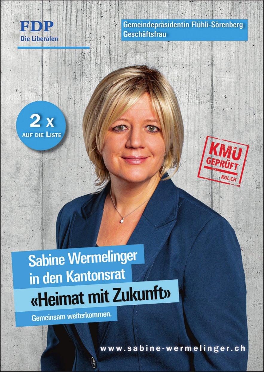 Sabine Wermelinger in den Kantonsrat