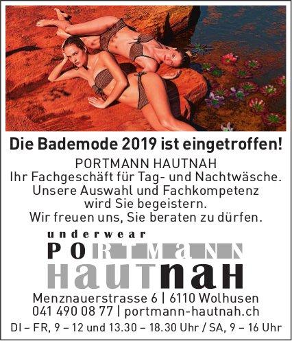 PORTMANN HAUTNAH, underwear, Wolhusen - Die Bademode 2019 ist eingetroffen!