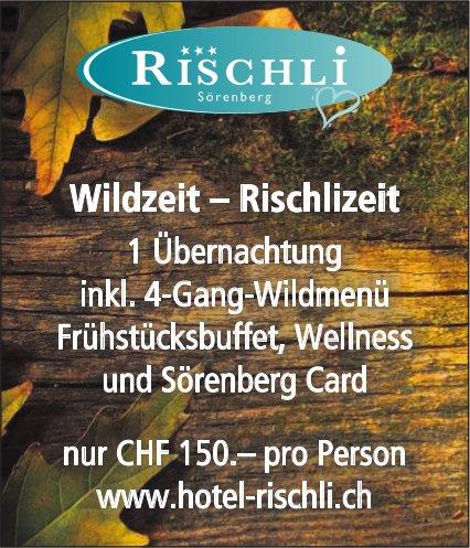 Wildzeit – Rischlizeit - Hotel Rischli, Sörenberg