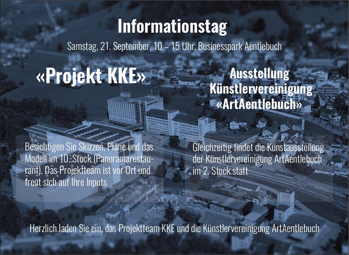 Informationstag, «Projekt KKE», 21. September, Businesspark Aentlebuch