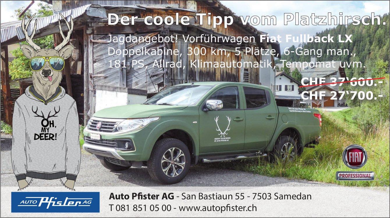Vorführwagen Fiat Fullback LX, Auto Pfister AG