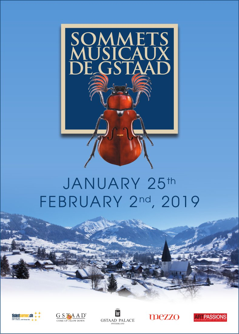 Sommets Musicaux de Gstaad, January 25th / February 2nd