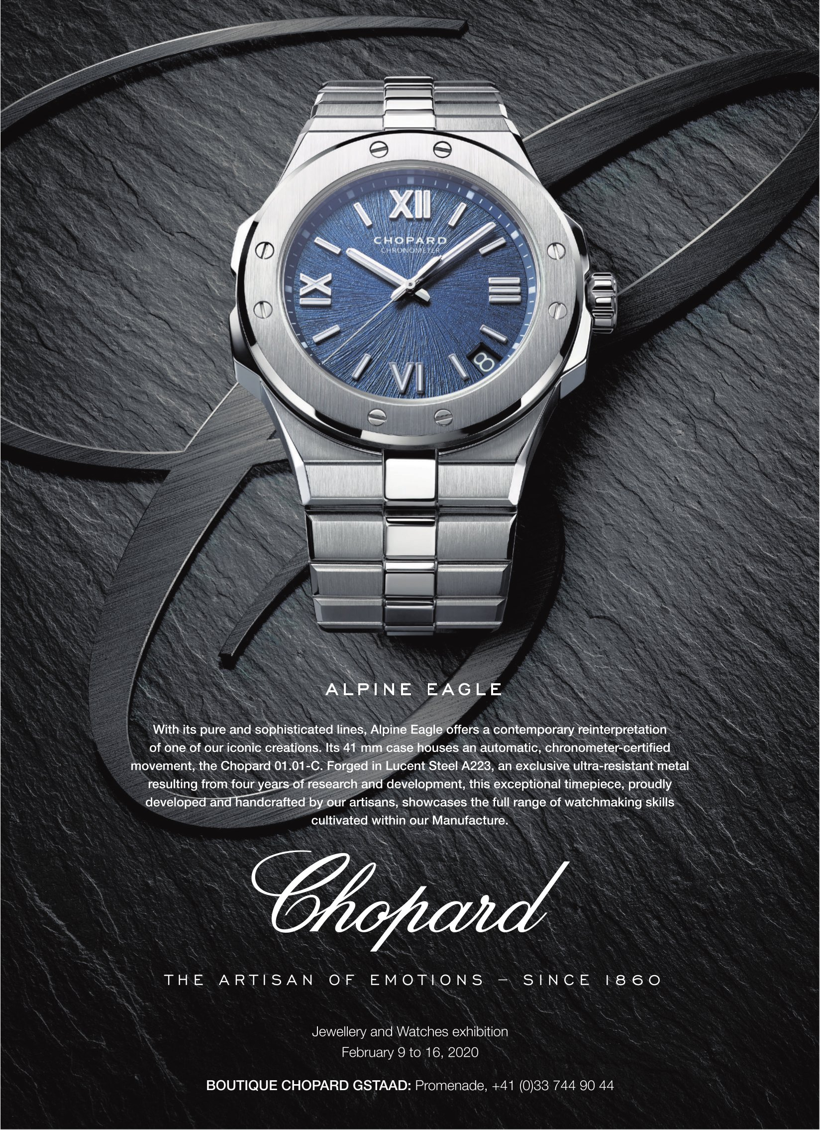 BOUTIQUE CHOPARD GSTAAD - ALPINE EAGLE