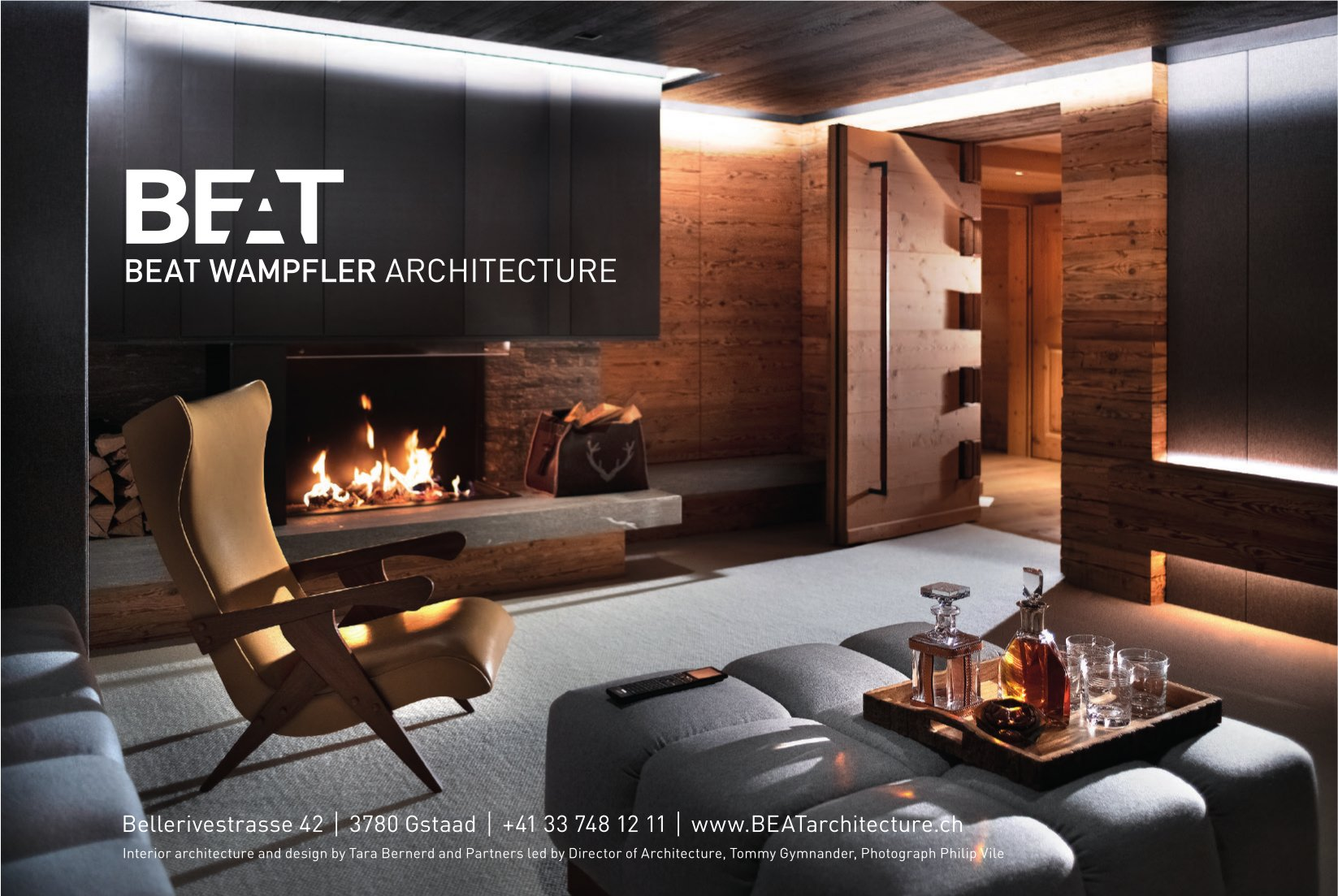 BEAT WAMPFLER ARCHITECTURE, GSTAAD