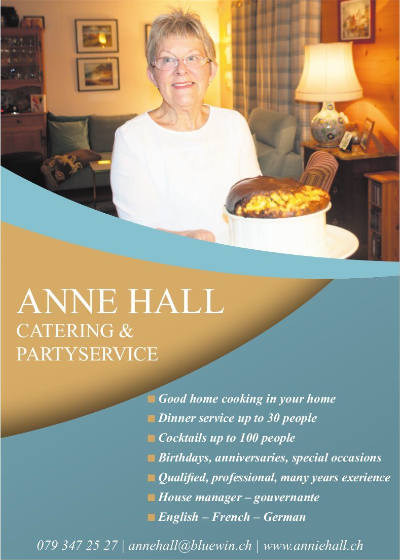 ANNE HALL CATERING & PARTYSERVICE