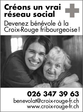 Croix-Rouge fribourgeoise - Créons un vrai réseau social