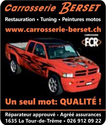 Carrosserie Berset, La Tour-de-Trême, Restauration - Tuning . Peintures motos