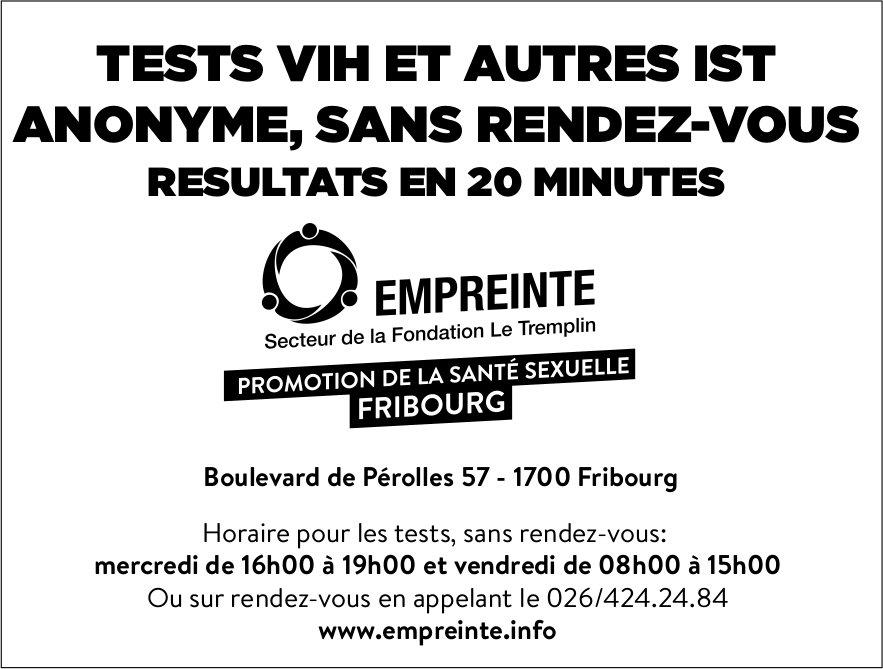 EMPREINTE, Fribourg, Promotion de la santé sexuelle Fribourg