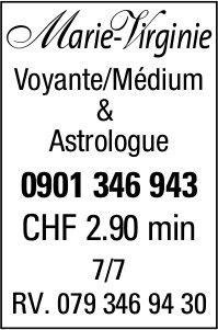 Marie- Virginie Voyante/Médium & Astrologue