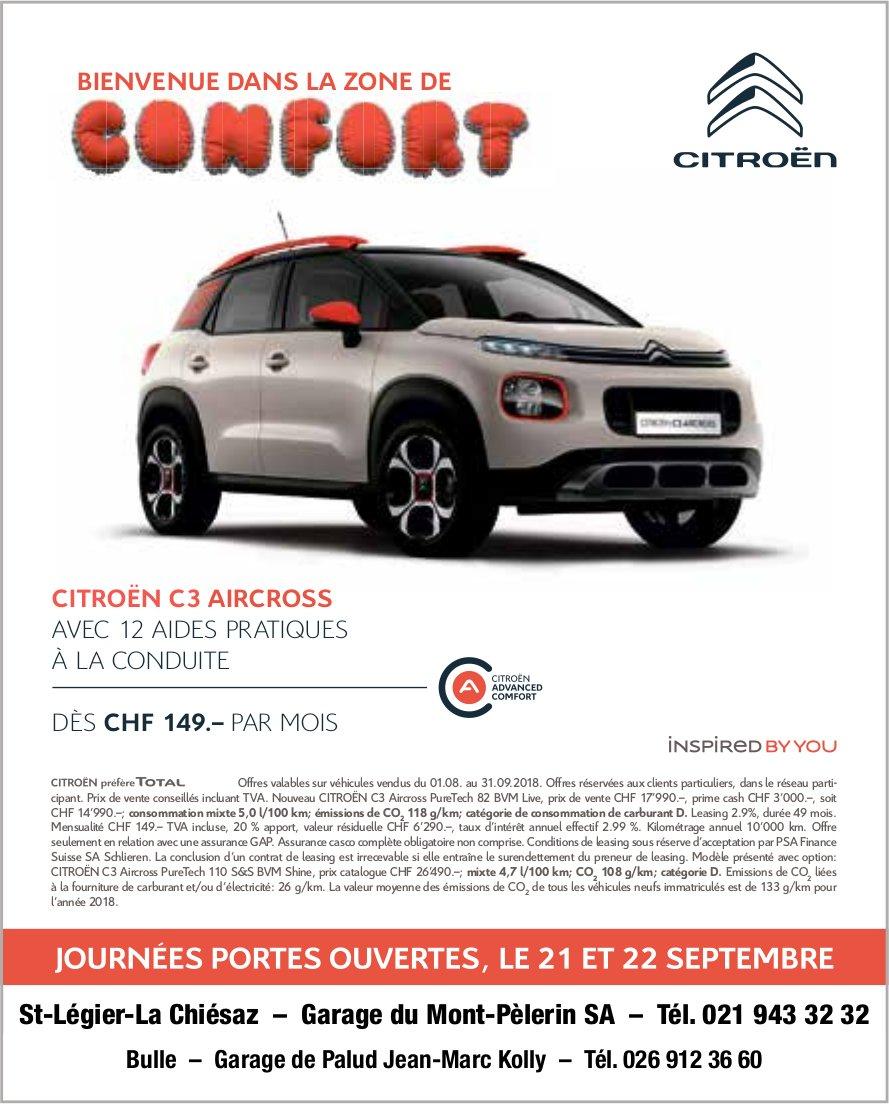 CITROËN, 21 et 22 septembre, Garage du Mont-Pèlerin SA Journée portes ouvertes