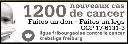 Ligue fribourgeoise contre le cancer krebsliga freiburg - Faites un don- Faites un legs