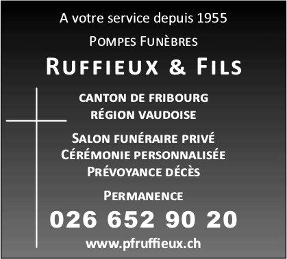 Ruffieux & Fils, Fribourg, Salon funéraire privé et cérémonie personnalisée