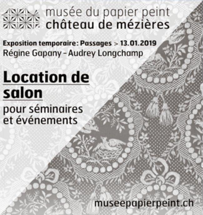 Musée du papier peint château de mézières - Location de salon pour séminaire et événement