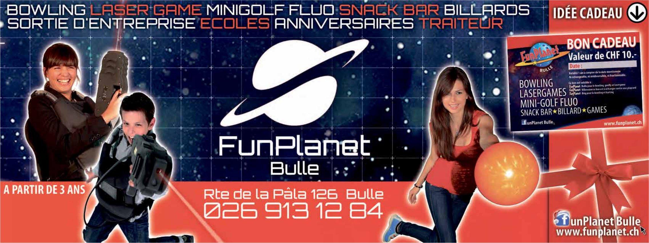 FunPlanet, Bulle, Bowling laser game