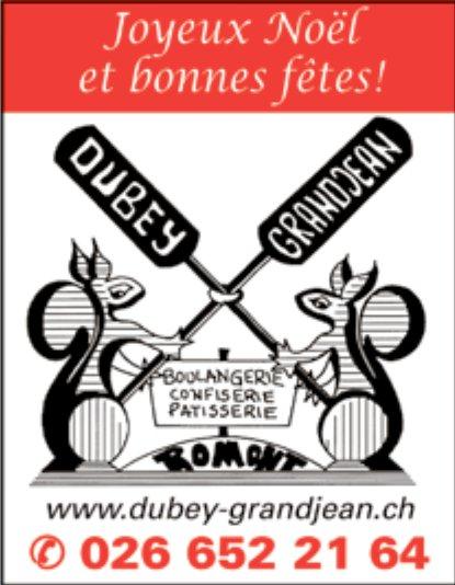 DUBEY ET GRANDJEAN -BOULANGERIE CONFISERIE PÂTISSERIE