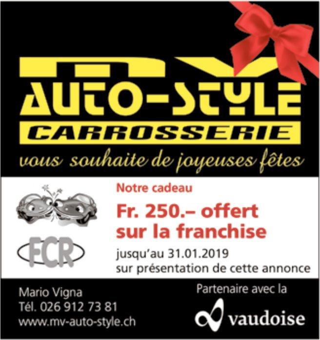 CARROSSERIE AUTO-STYLE, Notre cadeau Fr. 250.- offer sur la franchise