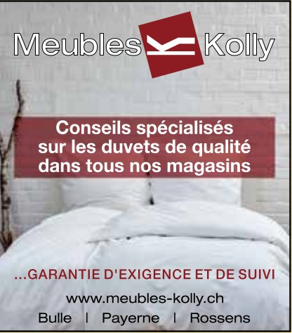 Meuble Kolly - Conseils sur les duvets de qualité dans tous nos magasins