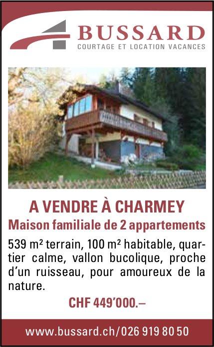 Maison familiale de 2 appartements, Charmey, à vendre