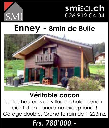 Chalet, Enney, à vendre
