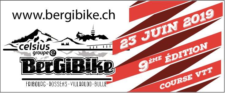 Bergibike 9 ième édition course VTT, 23 juin, Fribourg