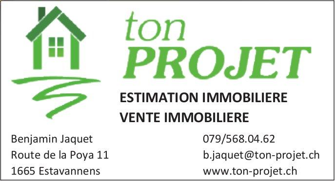 Ton Projet, Estavannens, Estimation et vente immobilière