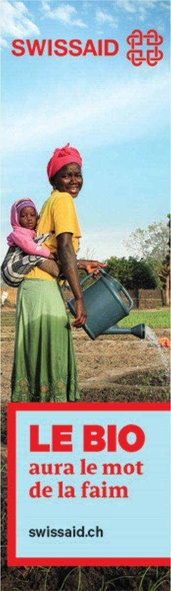 SWISSAID - LE BIO aura le mot de la faim