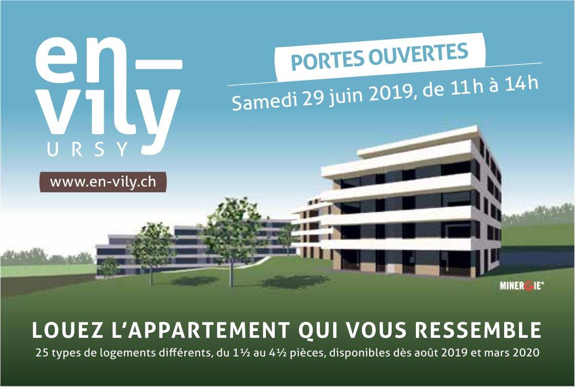 En vily, Ursy, Portes ouvertes samedi 29 juin
